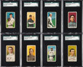 Baseball Cards:Lots, 1909-11 T206 White Border Baseball Collection (65). ...