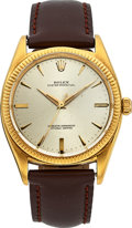 Timepieces:Wristwatch, Rolex Ref. 1013 Large 18k Yellow Gold Non-Date Oyster Perpetual Chronometer, circa 1957. ...