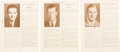 """Baseball Collectibles:Photos, 1933 """"Who's Who in Baseball"""" Signed Pages Lot of 39. ..."""