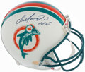 Football Collectibles:Helmets, Dan Marino Signed Full Size Authentic Miami Dolphins Helmet. ...