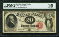 Large Size:Legal Tender Notes, Fr. 147 $20 1880 Legal Tender PMG Very Fine 25.. ...