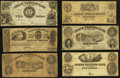 Obsoletes By State:Virginia, VA - Lot of 6 Virginia Contemporary Counterfeit and Spurious Types.. ... (Total: 6 notes)
