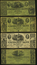Obsoletes By State:Virginia, VA - Lot of 7 Exchange Bank of Virginia, Norfolk Branch Payable Notes.. ... (Total: 7 notes)
