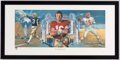 Football Collectibles:Others, Joe Montana Signed Lithograph....