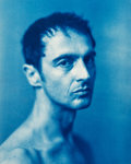 Photographs:Cyanotype, John Dugdale (American, b. 1960). John Kelly as CesareAugustus, 1997. Cyanotype in original artist's frame. 13-1/2 x10...
