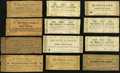 Obsoletes By State:Virginia, VA - Lot of 28 Virginia Civil War Period County Notes.. ... (Total: 28 notes)