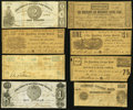 Obsoletes By State:Virginia, VA - Lot of 17 Virginia Civil War Period Issued Local & Savings Banks Notes.. ... (Total: 17 notes)