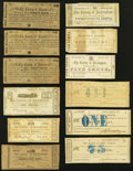 Obsoletes By State:Virginia, VA - Lot of 26 Virginia Civil War Period County Notes.. ... (Total: 26 notes)