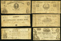 Obsoletes By State:Virginia, VA - Lot of 14 Richmond, Virginia Civil War Period Issued Local & Savings Banks Notes.. ... (Total: 14 notes)