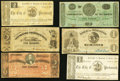 Obsoletes By State:Virginia, VA - Lot of 43 Virginia Civil War Period Corporation, Town, and City Notes.. ... (Total: 43 notes)
