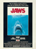 "Movie Posters:Horror, Jaws (Universal, 1975). Poster (30"" X 40"") Roger Kastel Artwork....."