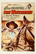 "Movie Posters:Western, The Westerner (United Artists, 1940). One Sheet (27"" X 41"").. ..."