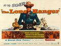 """Movie Posters:Western, The Lone Ranger (Warner Brothers, 1956). British Quad (30"""" X 40"""").. ..."""