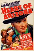 "Movie Posters:Western, Heart of Arizona (Paramount, 1938). One Sheet (27"" X 41"").. ..."