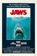 "Movie Posters:Horror, Jaws (Universal, 1975). One Sheet (27"" X 41"") Roger KastelArtwork.. ..."