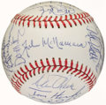 Autographs:Baseballs, 1987 American League All Stars Team Signed Baseball (31 Signatures). ...