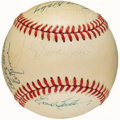 Autographs:Baseballs, Baseball Greats Multi-Signed Baseball (14 Signatures). ...
