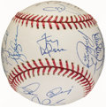 Autographs:Baseballs, 2002 St. Louis Cardinals Team Signed Baseball (23 Signatures)....