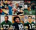Football Collectibles:Photos, 1980's Green Bay Packers Greats Signed Photograph Lot of 11. ...