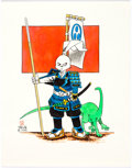 Original Comic Art:Illustrations, Stan Sakai - Usagi Yojimbo Illustration Original Art (1988)....
