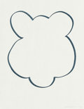 Works on Paper, Jeff Koons (b. 1954). Untitled, 1999. Ink on paper. 11 x 8-1/2 inches (27.9 x 21.6 cm) (sheet). Initialed and dated lowe...