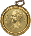 Political:Miscellaneous Political, Henry Clay: A Gleaming 1844 Campaign Shell Badge....
