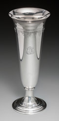 Silver Holloware, American:Vases, A Tiffany & Co. Silver Trumpet Vase, New York, circa 1907-1947.Marks: TIFFANY & CO, 17040 A MAKERS 16101, STERLINGSILVER...