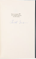 Books:Signed Editions, Richard Nixon Signed Limited Edition Copy of Seize the Moment....