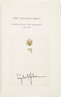 Books:Signed Editions, Lyndon B. Johnson Signed Copy of The Vantage Point....