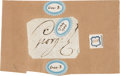 Autographs:Non-American, King George III of England Signature,...