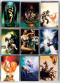 Memorabilia:Trading Cards, Boris Vallejo Collector Cards in Binder (Boris Vallejo, 1992)....