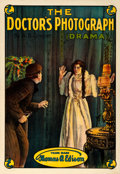 "Movie Posters:Drama, The Doctor's Photograph (Thomas A. Edison, Inc., 1913). British OneSheet (27.75"" X 40"").. ..."