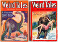 Pulps:Horror, Weird Tales - Robert E. Howard/Kull Group (Popular Fiction, 1929-30) Condition: Average VG.... (Total: 2 Items)