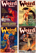 Pulps:Horror, Weird Tales Group of 7 (Popular Fiction, 1935).... (Total: 7 ComicBooks)