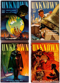 Unknown Near-Complete Series Box Lot (Street & Smith, 1939-41) Condition: Average VG+