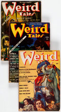 Pulps:Horror, Weird Tales Group of 8 (Popular Fiction, 1939) Condition: AverageVG-.... (Total: 8 Items)