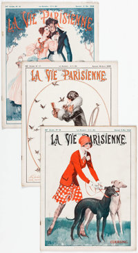 La Vie Parrisienne Group of 40 (1928) Condition: Average FN.... (Total: 40 Items)