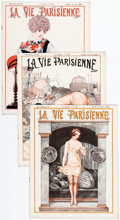 Magazines:Miscellaneous, La Vie Parrisienne Group of 31 (1924) Condition: Average VG/FN....(Total: 31 Items)