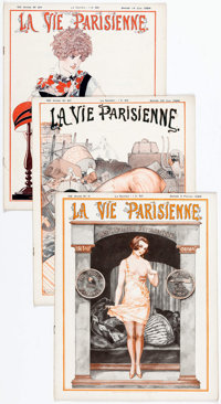La Vie Parrisienne Group of 31 (1924) Condition: Average VG/FN.... (Total: 31 Items)