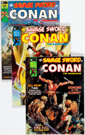 Magazines:Adventure, Savage Sword of Conan Group of 31 (Marvel, 1974-82) Condition: Average FN/VF.... (Total: 31 Comic Books)
