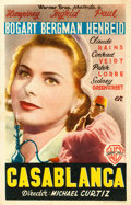 "Movie Posters:Academy Award Winners, Casablanca (Warner Brothers, 1947). Spanish Herald (3.5"" X 5.5"")....."