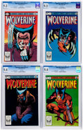 Modern Age (1980-Present):Superhero, Wolverine #1-4 CGC-Graded Group (Marvel, 1982).... (Total: 4 ComicBooks)