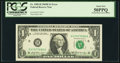 Error Notes:Offsets, Partial Back to Face Offset Error Fr. 1905-H $1 1969B FederalReserve Note. PCGS About New 50PPQ.. ...