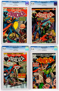 Bronze Age (1970-1979):Horror, Tomb of Dracula CGC-Graded Group of 4 (Marvel, 1975) Condition: CGCNM 9.4.... (Total: 4 Comic Books)