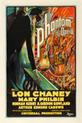 "Movie Posters:Horror, The Phantom of the Opera (Universal, 1925). One Sheet (27.5"" X 41"")Style L.. ..."