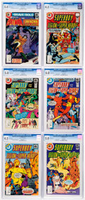 Bronze Age (1970-1979):Miscellaneous, DC Bronze Age CGC-Graded Whitman Variants Comics Group of 12(Whitman, 1978-79).... (Total: 12 Comic Books)