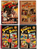 Golden Age (1938-1955):Religious, Picture Stories from the Bible Group of 5 (EC/DC, 1940s) Condition:Average VG.... (Total: 5 Comic Books)