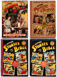 Picture Stories from the Bible Group of 5 (EC/DC, 1940s) Condition: Average VG.... (Total: 5 Comic Books)