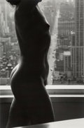 Photographs:Gelatin Silver, Lucien Clergue (French, 1934-2014). Nude in front of window(from the suite Primavera in New York), 1976. Gelatin silver...