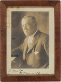 Autographs:U.S. Presidents, Woodrow Wilson: Signed Personalized Photograph....